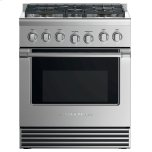 "Fisher & PaykelGas Range, 30"", 5 Burners, LPG"