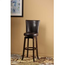 Copenhagen Swivel Bar Stool - Brown/walnut