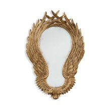 """Classical """"Winged"""" Wall Mirror"""
