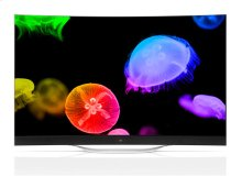 """Curved OLED 4K Smart TV - 77"""" Class (76.7"""" Diag)"""