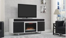 "This TV stand for TVs up to 80"" and up to 155 lbs. is the perfect modern pi..."