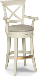 X Back Bar Stool Product Image