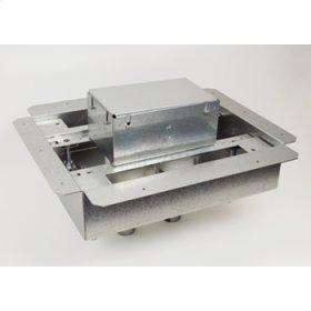 8802S-FC12 Omnibox Series Fire Classified 2-Gang Floor Box