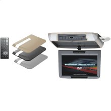 """9"""" Ceiling-Mount Swivel DVD Entertainment System with IR & FM Transmitters & 3 Interchangeable Skins"""