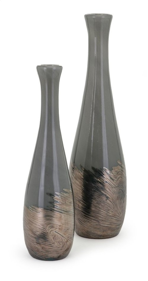 Montag Small Art Glass Bottle
