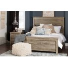 Complete Bed with Rustic Headboard - 60'' Product Image