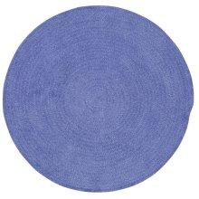 R. Purple Chenille Creations Round