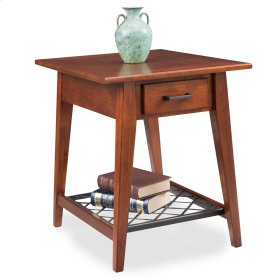Westwood Oak Drawer End Table - Latisse Collection