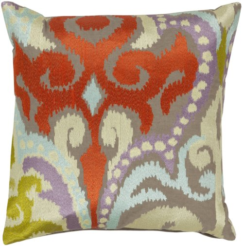 "Ara AR-073 22"" x 22"" Pillow Shell with Down Insert"