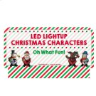 Oh What Fun! Stocking Stuffers - LED Bell Figures Sign Product Image