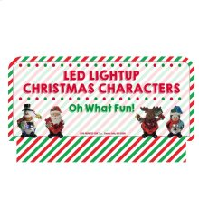 Oh What Fun! Stocking Stuffers - LED Bell Figures Sign