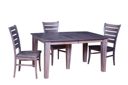 """42/60-2-20"""" 5/4 Thick Top 5-Leg Dining Table"""