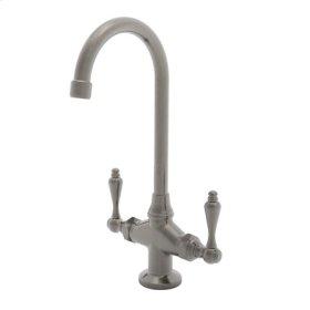 Antique Nickel Prep/Bar Faucet