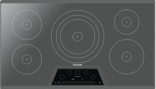 36-Inch Masterpiece® Induction Cooktop, Silver Mirror, Frameless CIT365KM