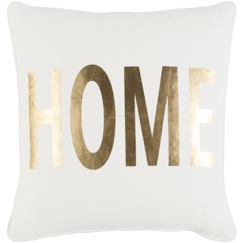 "Glyph GLYP-7106 18"" x 18"" Pillow Shell with Polyester Insert"