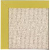 Creative Concepts-White Wicker Canvas Lemon Grass Machine Tufted Rugs