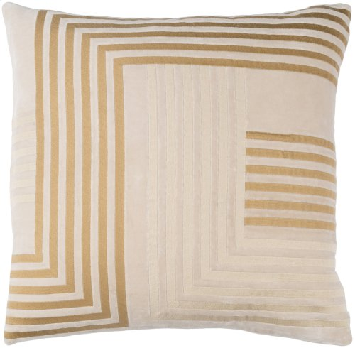 "Intermezzo INE-002 18"" x 18"" Pillow Shell with Polyester Insert"