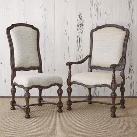 New Provence Side Chair - Balsamo Rain