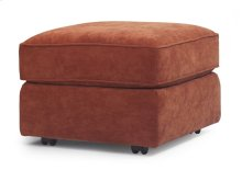 Vail Leather Ottoman