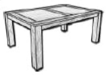 Table, Available in Antique Cream Finish Only.