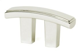 Arch Pull A418 - Polished Nickel