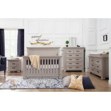 Moonstone Palermo 4-in-1 Convertible Crib