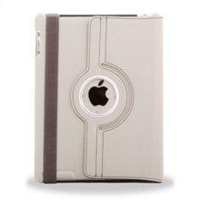 Polaroid Hard Shell iPad 2 and iPad 3 Rotating Folio Case, Grey - PAC100GY