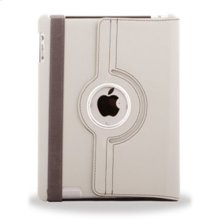 Polaroid Hard Shell iPad 2 and iPad 3 Rotating Folio Case, Grey - PAC100GY