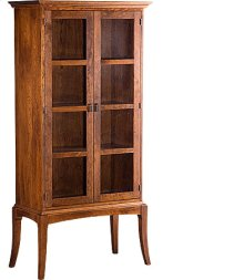 Sabin Bookcase w/ Glass Doors
