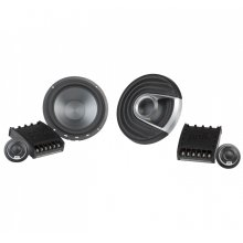 "MM1 Series 6.5"" Component Speaker System with Ultra-Marine Certification in Black and Silver"
