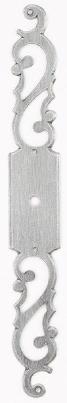 Classic Keyhole Escutcheons Plate (round hole) Product Image