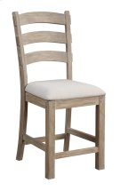 "Emerald Home Castle Bay Barstool 24"" Upholstered Seat Pine D952-24 Product Image"