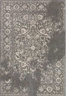 Charcoal / Ivory Rug