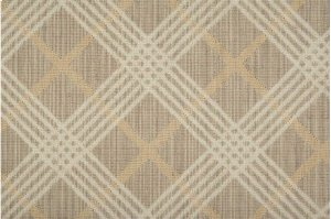 Sands Point Coastal Plaid Cstpl Shell/ivory-b 13'2''