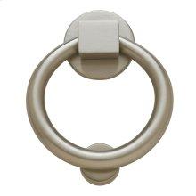 Satin Nickel Ring Knocker