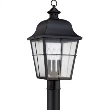 Millhouse Outdoor Lantern in Mystic Black