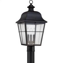 Millhouse Outdoor Lantern in Mystic Black