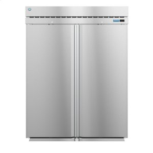 HoshizakiRN2A-FS, Refrigerator, Two Section Roll-In Upright, Full Stainless Doors with Lock