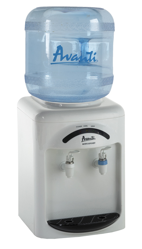 AvantiCold And Room Temperature Tabletop Water Dispenser