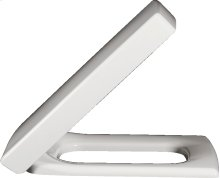 WC-seat and cover - White Alpin CeramicPlus