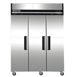Maxx Ice  Maxx Cold X-Series Reach-In Upright Refrigerator in Stainless Steel (72 cu. ft.)