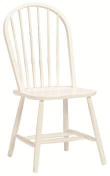 Bow Back Chair White