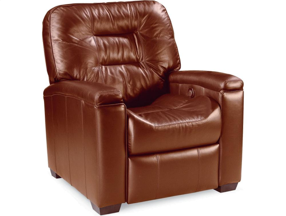 Genial Latham Media Recliner With Cup Holder (Motorized) (Fabric)