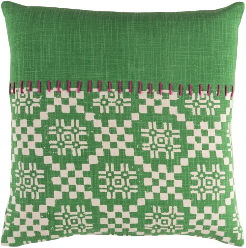 """Delray DEA-001 20"""" x 20"""" Pillow Shell with Polyester Insert"""