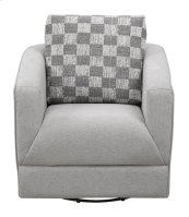 Emerald Home Adler Accent Chair Pewter U4132-04-03