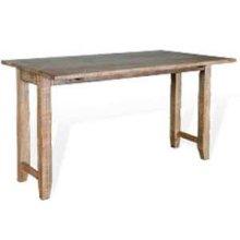 "Driftwood Sofa Table w/ 2-9"" Drop Leaves"
