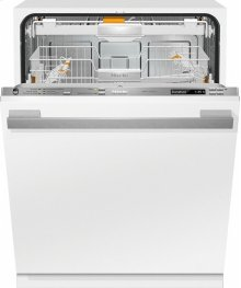G 6785 SCVi AM Fully-integrated, full-size dishwasher with hidden control panel, 3D+ cutlery tray, custom panel and handle ready