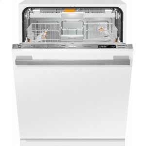 MieleG 6785 SCVi AM Fully-integrated, full-size dishwasher with hidden control panel, 3D+ cutlery tray, custom panel and handle ready
