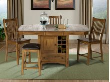 Gathering Height Wine Storage Table
