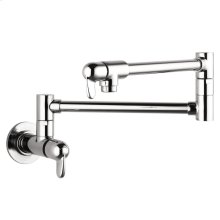 Chrome Allegro E Pot Filler, Wall-Mounted